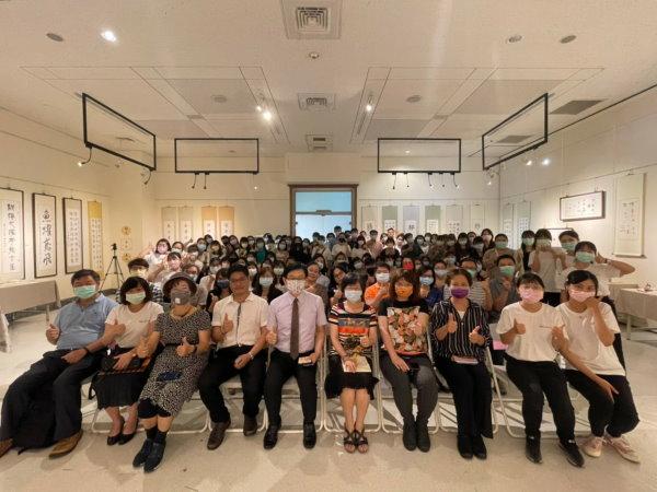 中教大110級語四甲「時隧.拾歲」畢業展覽圓滿成功-科學教育與應用學系